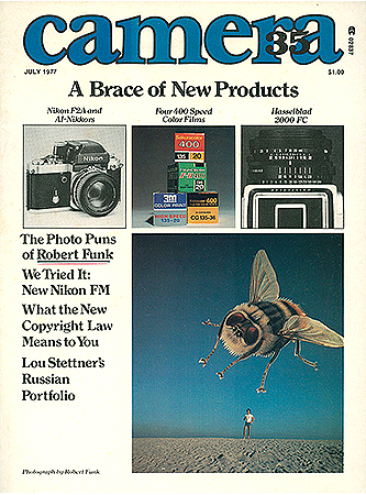 Camera 35 Magazine Cover, July 1977