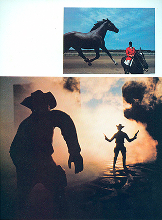 Preceded David Levinthal wild west cowboy Camera 35 Magazine June 1975