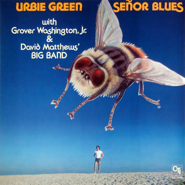Urbie Green Album Cover, CTI Records, 1977
